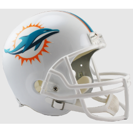Miami Dolphins Riddell VSR-4 Replica Full Size Football Helmet