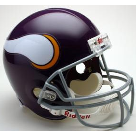 Minnesota Vikings Riddell VSR-4 Throwback 61-79 Replica Full Size Football Helmet