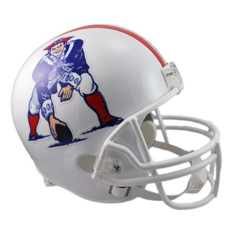 New England Patriots Riddell VSR-4 Throwback 82-89 Replica Full Size Football Helmet