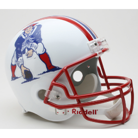 New England Patriots Riddell VSR-4 Throwback 90-92 Replica Full Size Football Helmet