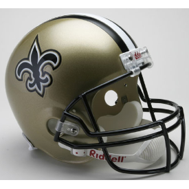 New Orleans Saints Riddell VSR-4 Replica Full Size Football Helmet