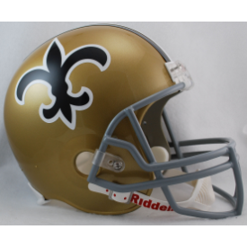 New Orleans Saints Riddell VSR-4 Throwback 67-75 Replica Full Size Football Helmet
