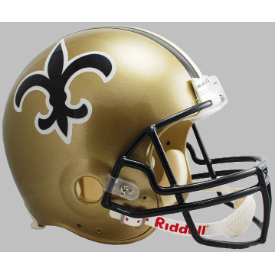 New Orleans Saints Riddell VSR-4 Throwback 76-99 Replica Full Size Football Helmet