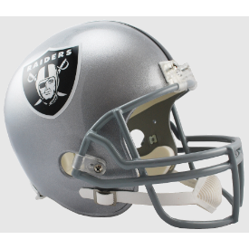 Las Vegas Raiders Riddell VSR-4 Replica Full Size Football Helmet