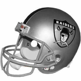 Oakland Raiders Riddell VSR-4 Throwback 1963 Replica Full Size Football Helmet
