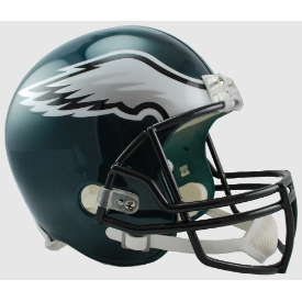 Philadelphia Eagles Riddell VSR-4 Replica Full Size Football Helmet
