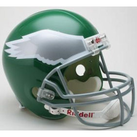 Philadelphia Eagles Riddell VSR-4 Throwback 74-95 Replica Full Size Football Helmet