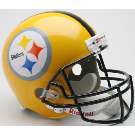 Pittsburgh Steelers Riddell VSR-4 Throwback 1962 75th Anniversary Replica Full Size Football Helmet