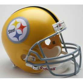Pittsburgh Steelers Riddell VSR-4 Throwback 1962 Replica Full Size Football Helmet