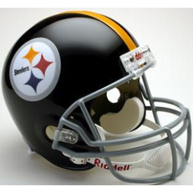 Pittsburgh Steelers Riddell VSR-4 Throwback 63-76 Replica Full Size Football Helmet