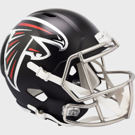 Atlanta Falcons Riddell Speed Authentic Full Size Football Helmet ***New for 2020***