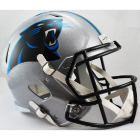 Carolina Panthers Riddell Speed Replica Full Size Football Helmet
