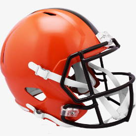 Cleveland Browns Riddell Speed Replica Full Size Football Helmet