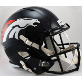 Denver Broncos Riddell Speed Replica Full Size Football Helmet