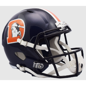 Denver Broncos Color Rush 2016 Riddell Speed Replica Full Size Football Helmet