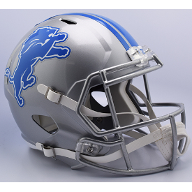 Detroit Lions Riddell Speed Replica Full Size Football Helmet