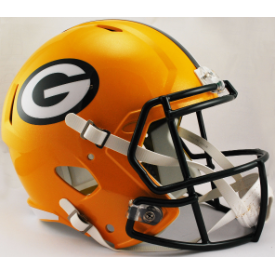 Green Bay Packers Riddell Speed Replica Full Size Football Helmet
