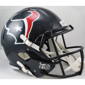 Houston Texans Riddell Speed Replica Full Size Football Helmet