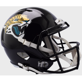 Jacksonville Jaguars Riddell Speed Replica Full Size Football Helmet