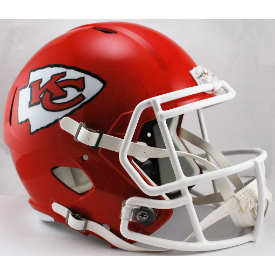 Kansas City Chiefs Riddell Speed Replica Full Size Football Helmet