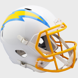 Los Angeles Chargers Riddell Speed Replica Full Size Football Helmet