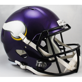Minnesota Vikings Riddell Speed Replica Full Size Football Helmet