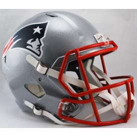 New England Patriots Riddell Speed Replica Full Size Football Helmet