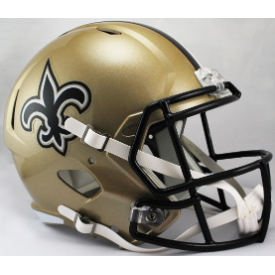 New Orleans Saints Riddell Speed Replica Full Size Football Helmet