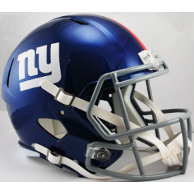 New York Giants Riddell Speed Replica Full Size Football Helmet