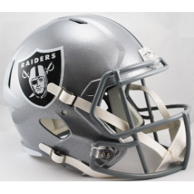 Oakland Raiders Riddell Speed Replica Full Size Football Helmet