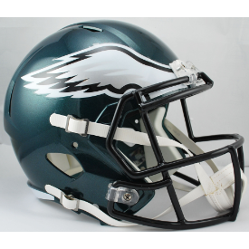 Philadelphia Eagles Riddell Speed Replica Full Size Football Helmet