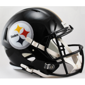 Pittsburgh Steelers Riddell Speed Replica Full Size Football Helmet