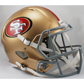 San Francisco 49ers Riddell Speed Replica Full Size Football Helmet
