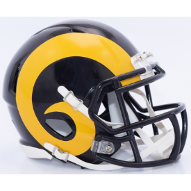 Los Angeles Rams Color Rush 2017 Riddell Speed Replica Full Size Football Helmet