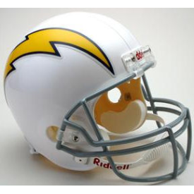 San Diego Chargers Riddell VSR-4 Throwback 61-73 Replica Full Size Football Helmet
