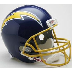 San Diego Chargers Riddell VSR-4 Throwback 74-87 Replica Full Size Football Helmet