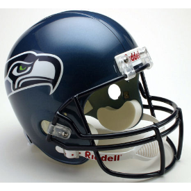 Seattle Seahawks Riddell VSR-4 Throwback 02-11 Replica Full Size Football Helmet