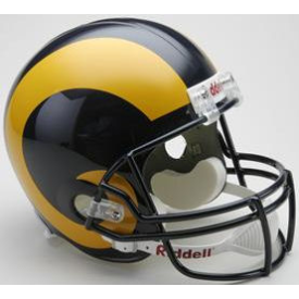 Los Angeles/St Louis Rams Riddell VSR-4 Throwback 81-99 Replica Full Size Football Helmet