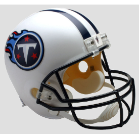 Tennessee Titans Riddell VSR-4 Throwback 99-17 Replica Full Size Football Helmet