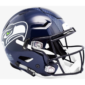 Seattle Seahawks Riddell SpeedFlex Full Size Authentic Football Helmet