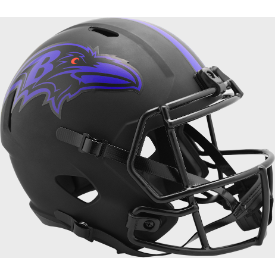 Baltimore Ravens Riddell Speed ECLIPSE Authentic Full Size Football Helmet