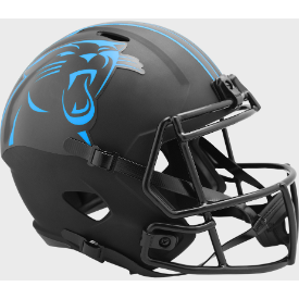 Carolina Panthers Riddell Speed ECLIPSE Authentic Full Size Football Helmet