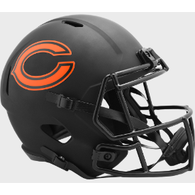 Chicago Bears Riddell Speed ECLIPSE Authentic Full Size Football Helmet
