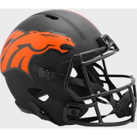 Denver Broncos Riddell Speed ECLIPSE Replica Full Size Football Helmet
