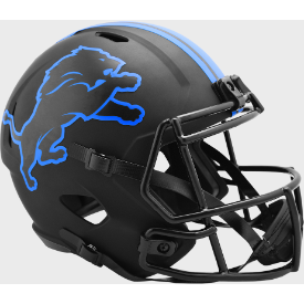 Detroit Lions Riddell Speed ECLIPSE Replica Full Size Football Helmet
