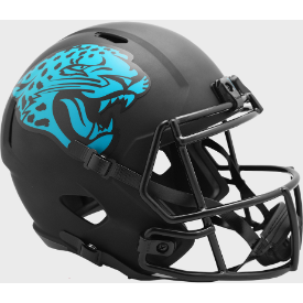 Jacksonville Jaguars Riddell Speed ECLIPSE Authentic Full Size Football Helmet