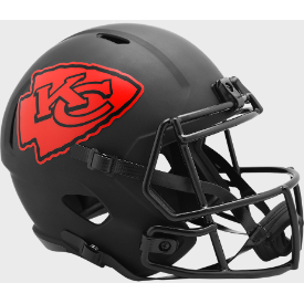 Kansas City Chiefs Riddell Speed ECLIPSE Replica Full Size Football Helmet