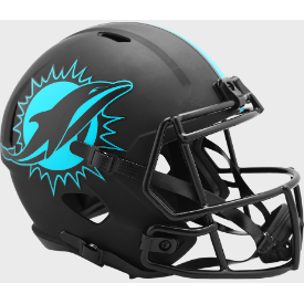 Miami Dolphins Riddell Speed ECLIPSE Replica Full Size Football Helmet