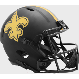 New Orleans Saints Riddell Speed ECLIPSE Authentic Full Size Football Helmet