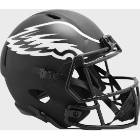 Philadelphia Eagles Riddell Speed ECLIPSE Replica Full Size Football Helmet